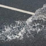 Asfalto anti inondazione